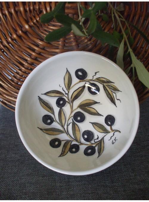 Ceramic bowl - Bolo olivo