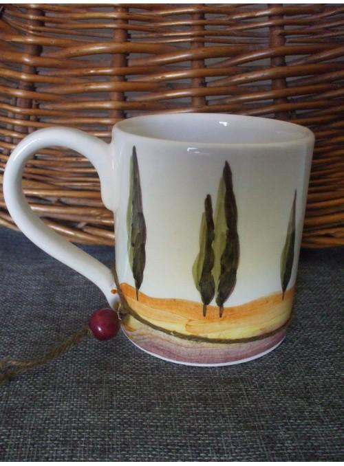 Ceramic mug - Tuscany