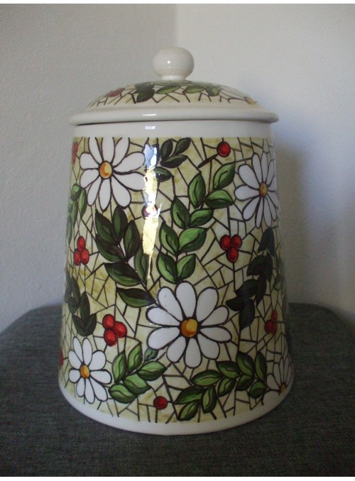 Ceramic cookie jar - Tiffany