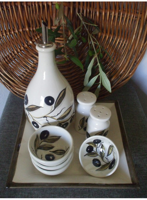 Ceramic menage for seasoning - Pinzimonio