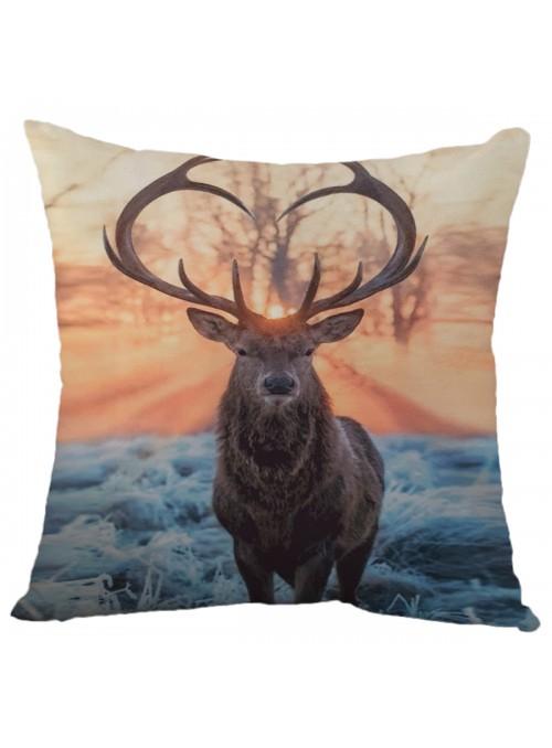 Cuscino bombato quadrato - Cervo