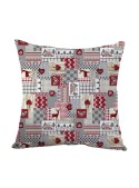 Squared stuffed cushion - Patchwork