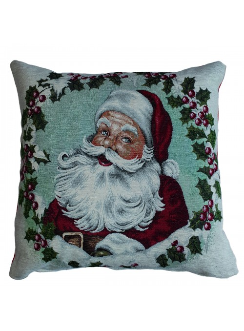 Squared stuffed cushion - Babbo Natale