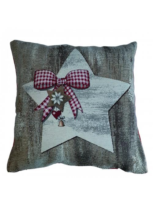 Squared stuffed cushion - Stella
