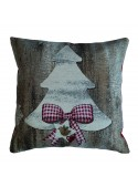Squared stuffed cushion - Abete
