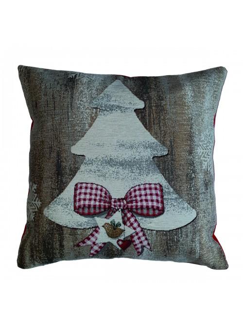 Squared stuffed cushion - Abete
