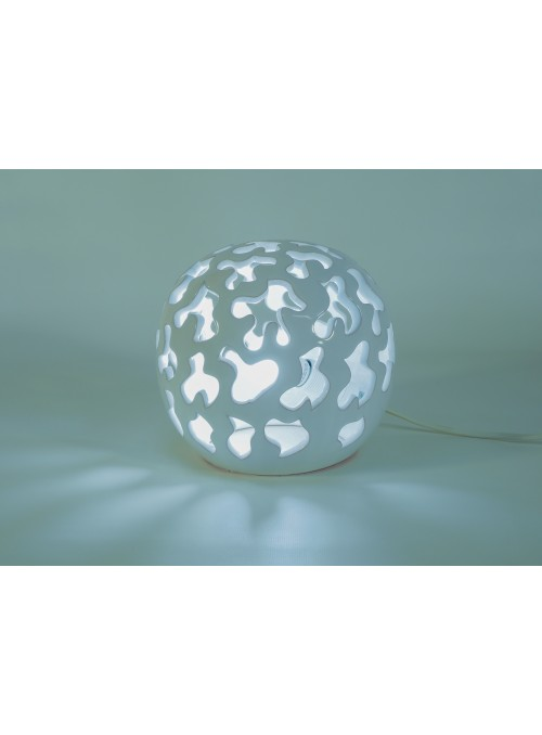 Rounded ceramic lamp - Liberty