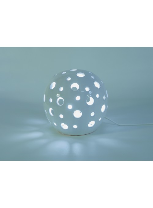 Rounded ceramic lamp - Pois