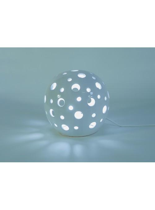 Lampada rotonda in ceramica - Pois