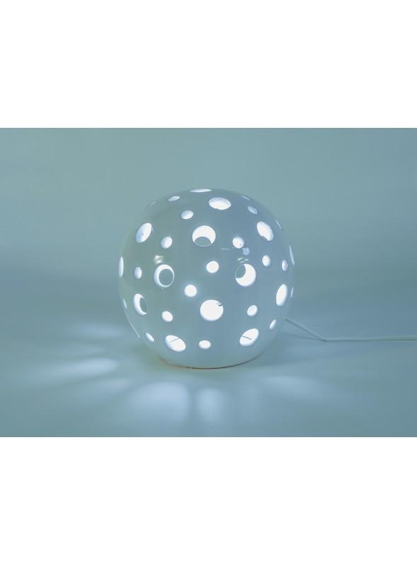 Rounded ceramic lamp - Pois