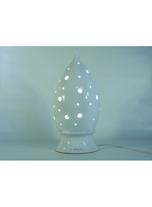 Drop shape ceramic lamp - Goccia a pois