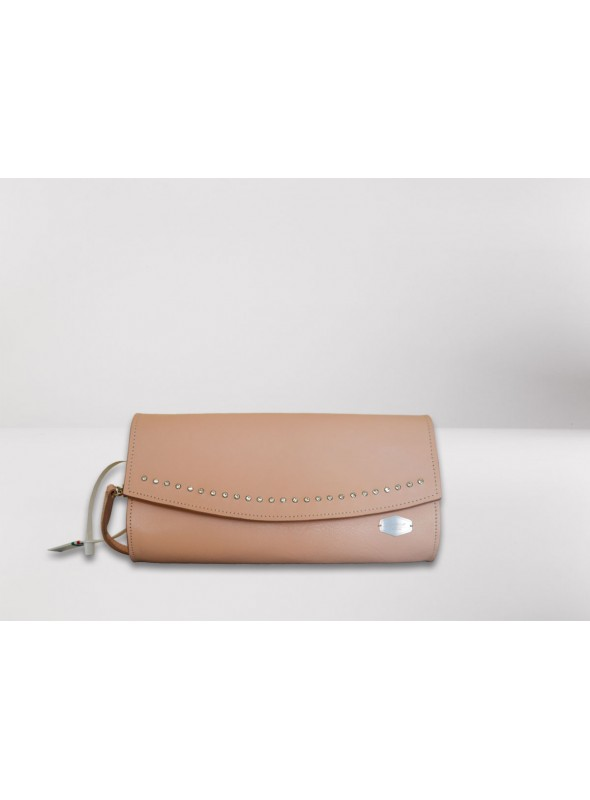 Leather pochette - Starlight