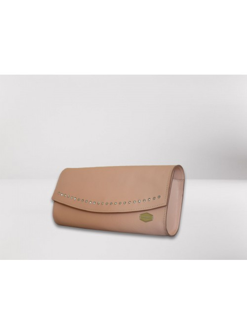 Leather pochette - Starlight