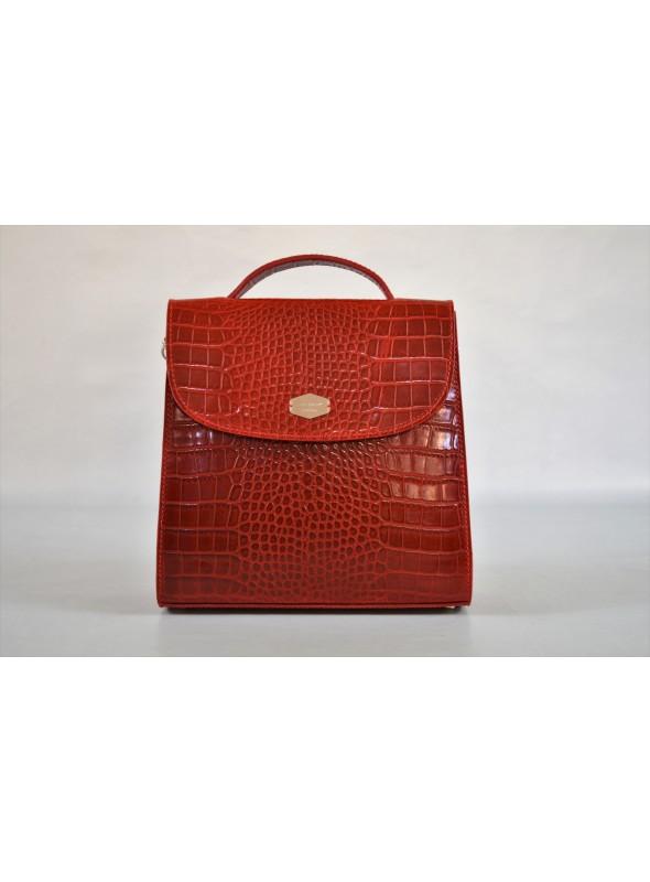 Leather hand bag - A'nima