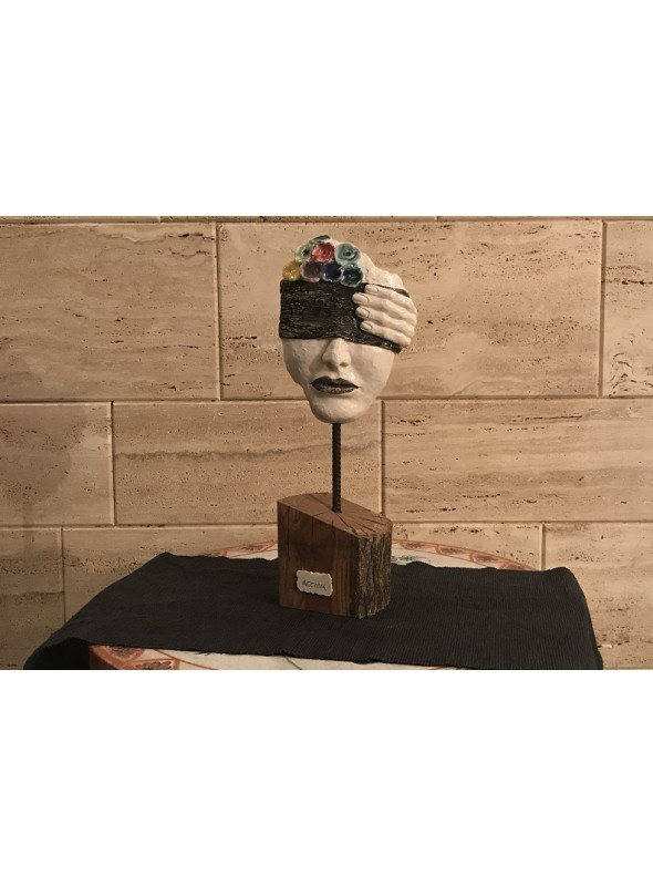 Artistic sculpture - Accidia