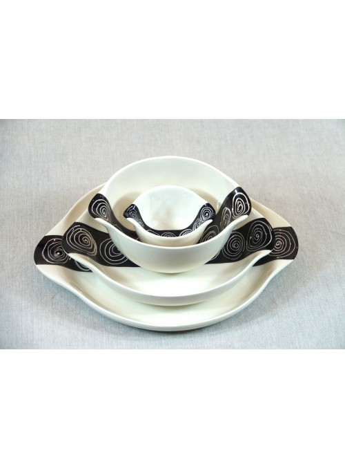 Set da tavola in ceramica
