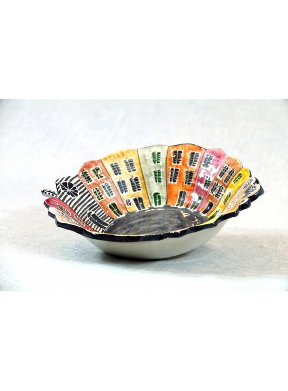 Serving bowl in ceramic