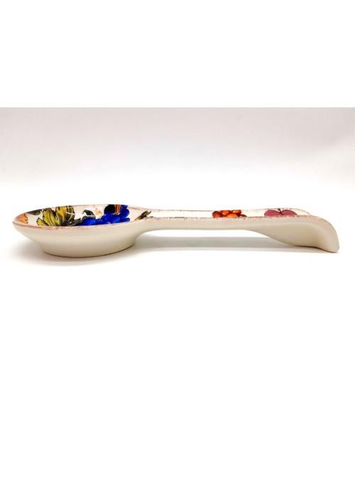 Poggiamestolo in ceramica - Frutta