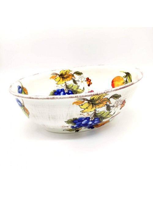 Ceramic salad bowl - Frutta