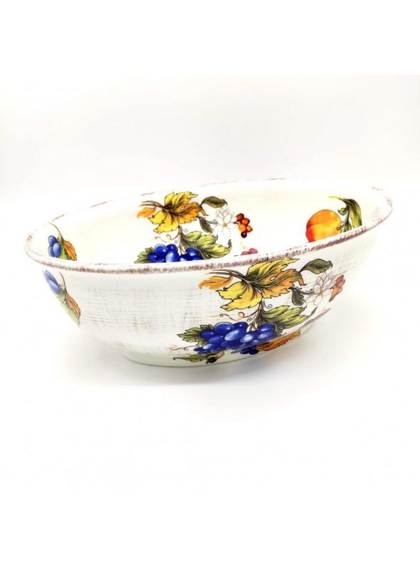 Ceramic salad bowl - Frutta