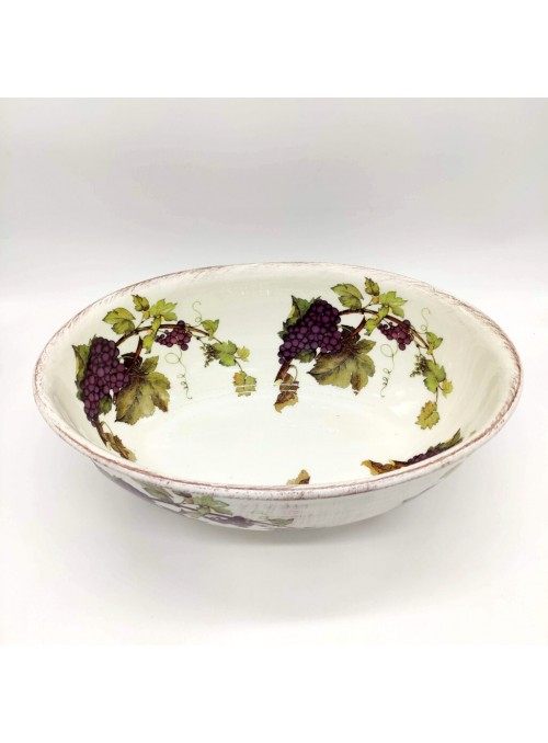 Insalatiera in ceramica - Uva