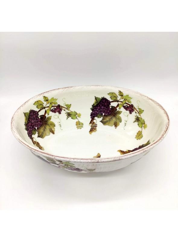 Ceramic salad bowl - Uva