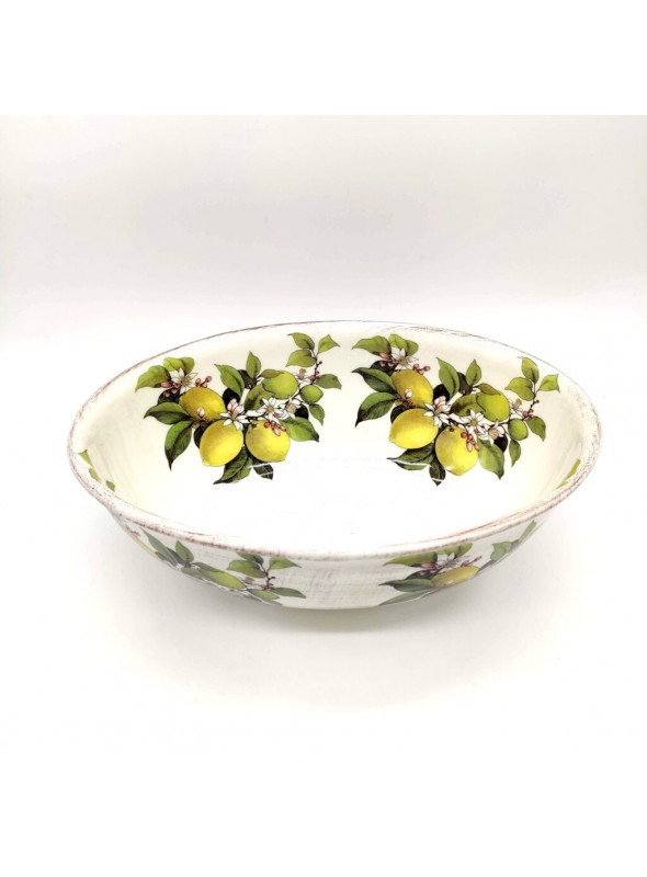 Ceramic salad bowl - Limoni