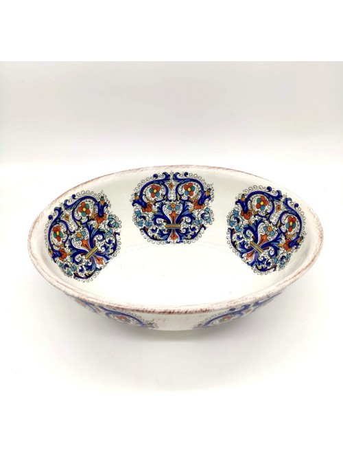 Ceramic salad bowl - Deruta