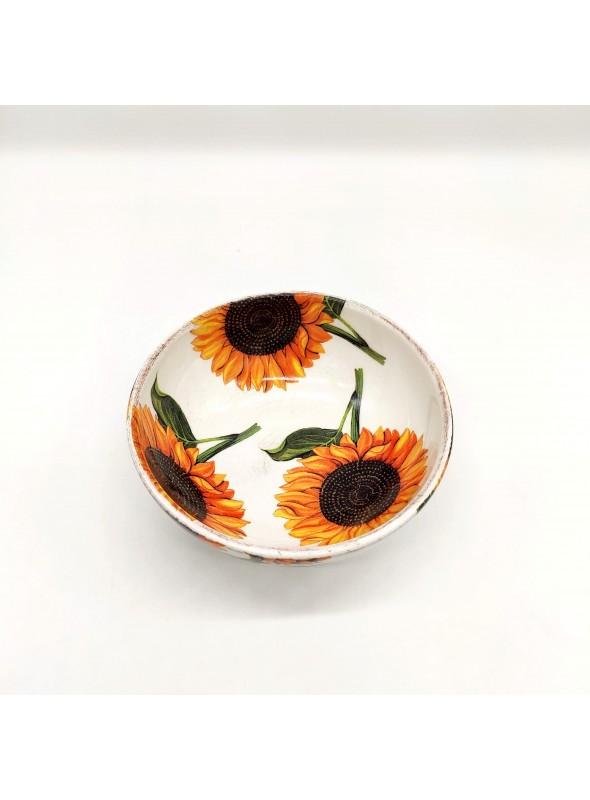 Ceramic bowl for single portions