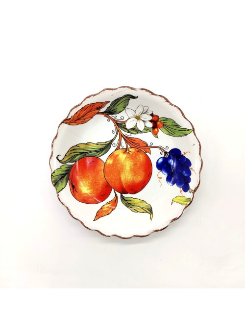 Ceramic plate flower shaped