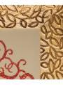 Wooden panel with coral and gold - Albero della vita