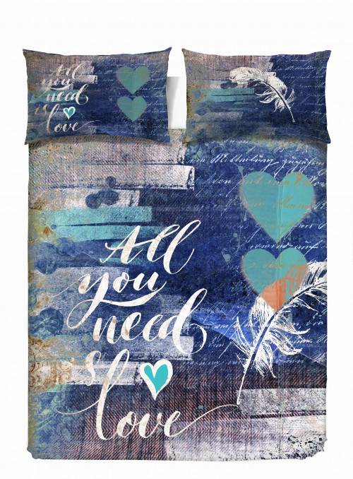 Duvet cover set - All you need is love