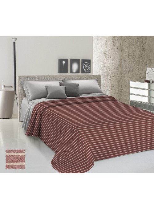 Yarn-dyed double bedspread - Rigato