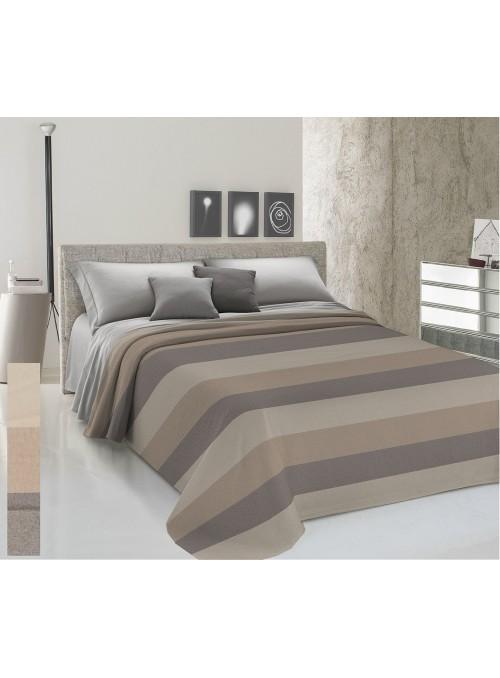 Yarn-dyed double bedspread - Fasciato