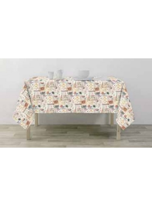 Tablecloth in eco freindly fabric - Dipsi
