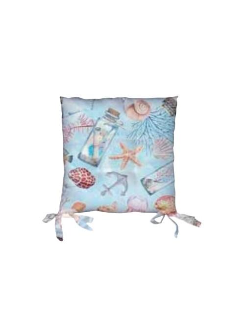 Set due cuscini per sedia eco friendly - Glan
