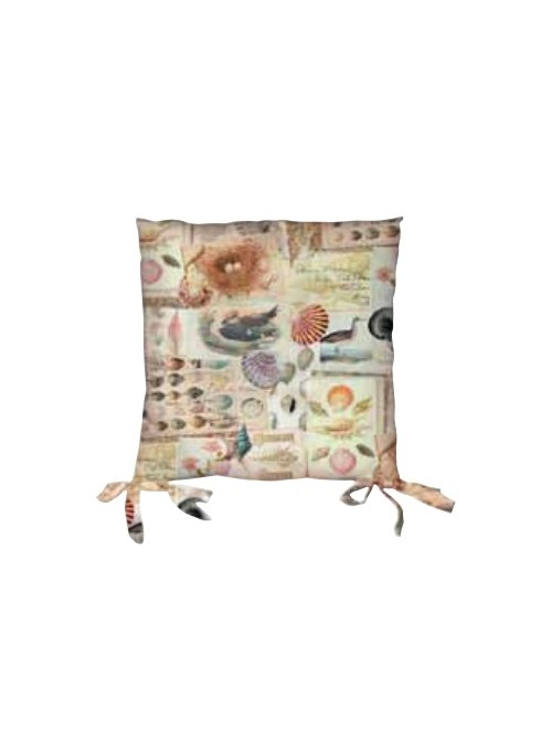Set of two sustainable seat cushions - Dipsi