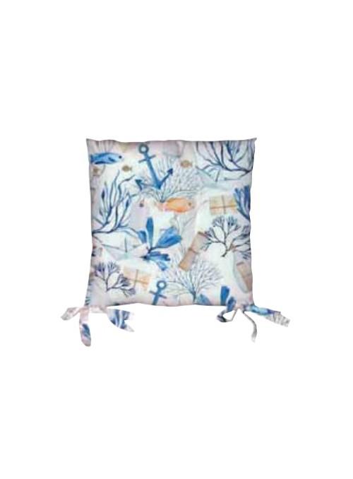 Set due cuscini per sedia eco friendly - Ula
