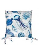 Set due cuscini per sedia eco friendly - Doria