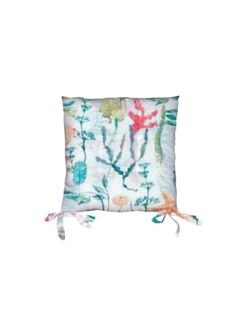 Set due cuscini per sedia eco friendly - Moana
