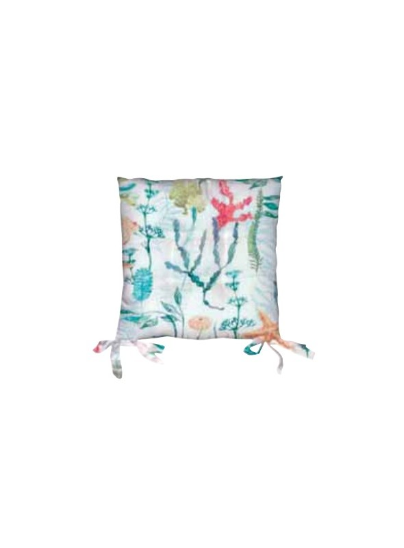 Set of two sustainable seat cushions - Moana