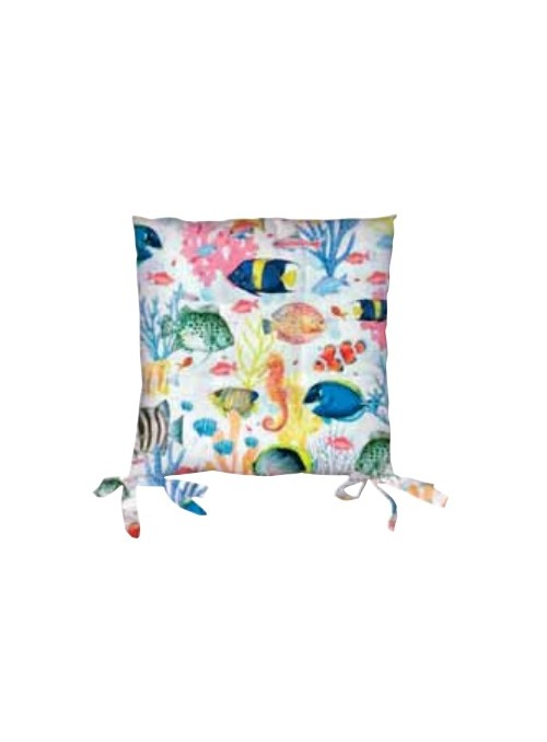 Set of two sustainable seat cushions - Kaito