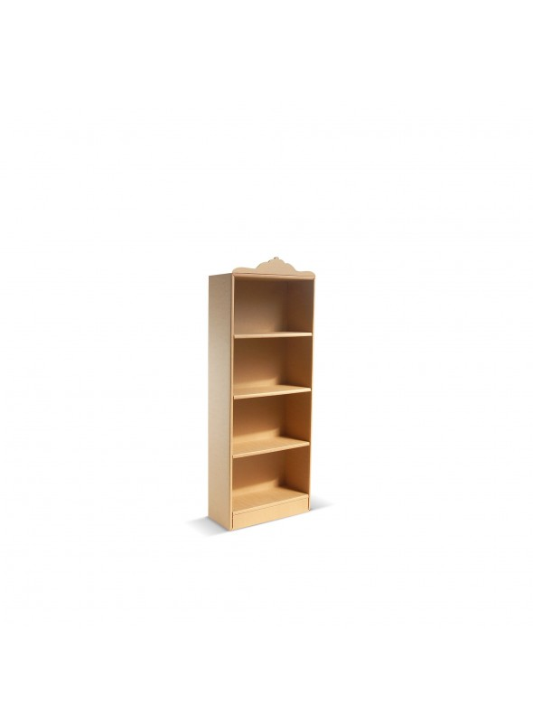 Classical style eco-friendly cardboard bookcase Coco 145