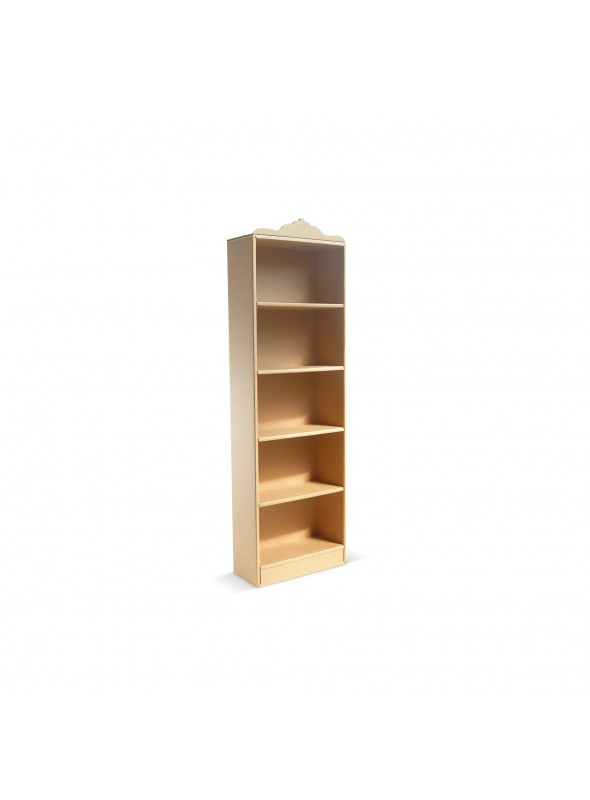 tall ecofriendly cardboard bookcase coco 180