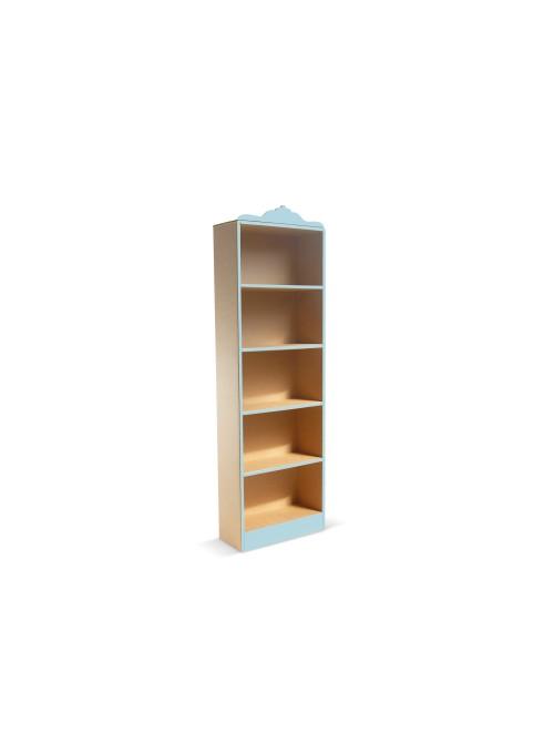 Libreria alta stile classico di ecodesign in cartone - Coco 180